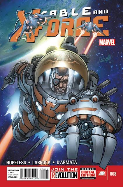 Cable and the X-Force #8 (Marvel Now) Comics gratis descarga español