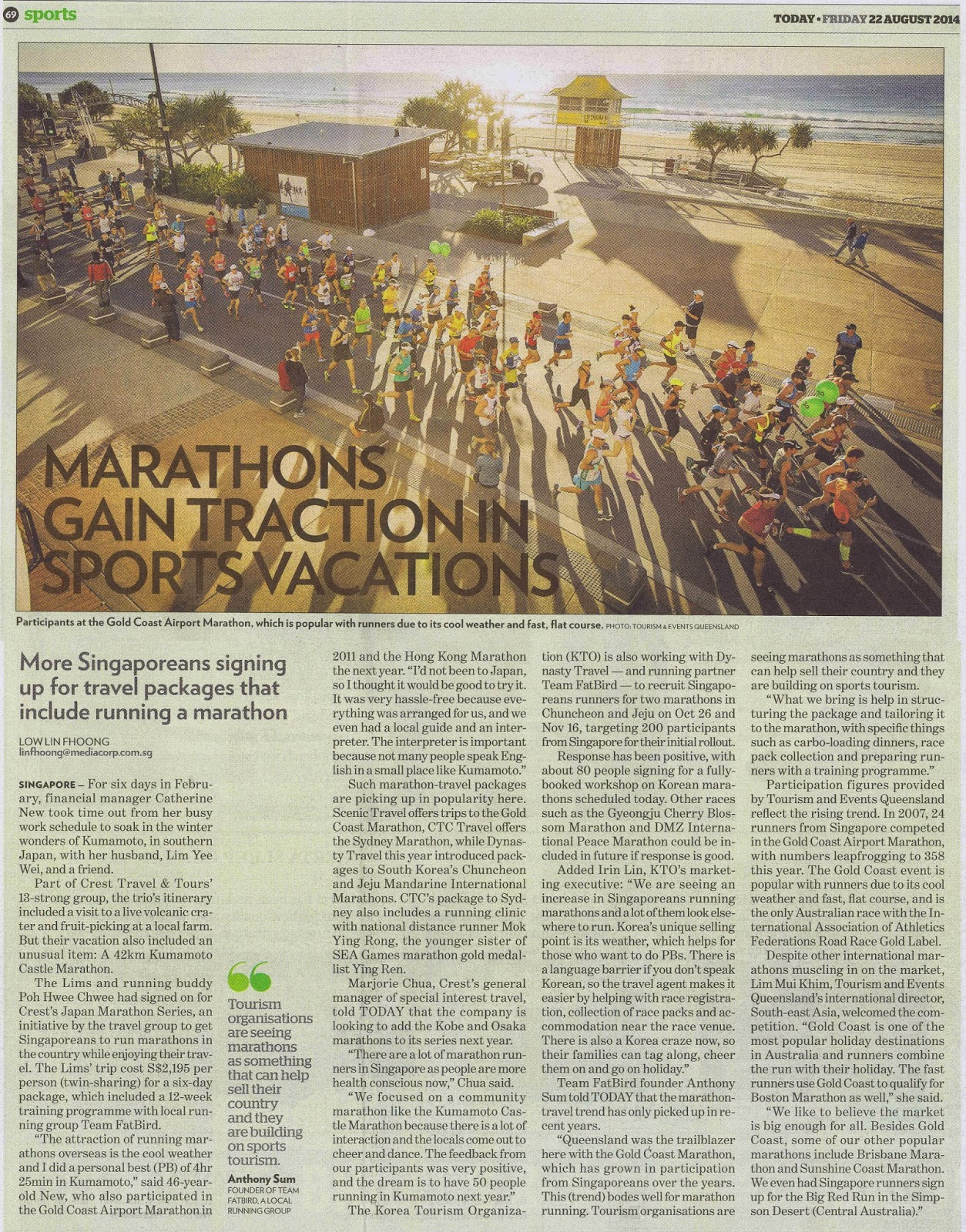 International Marathon Travellers