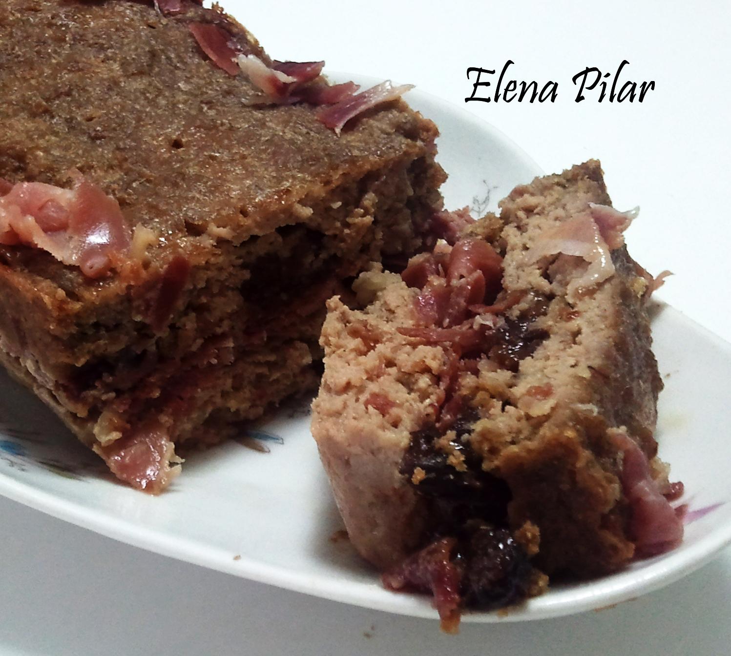 Mi recetario por elena pilar fiambre de carne al pedro - Carne con ciruelas pasas ...
