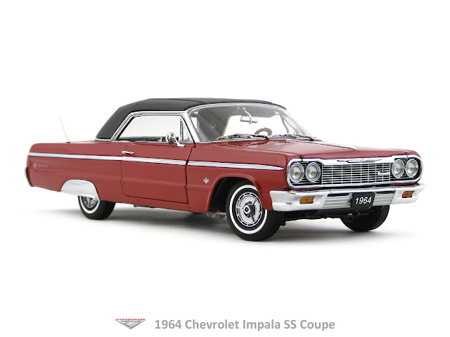 1964 chevrolet impala ss coupe west coast precision diecast