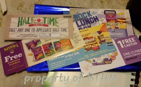 influenster #rockthelunchbox influenster vox box coupons