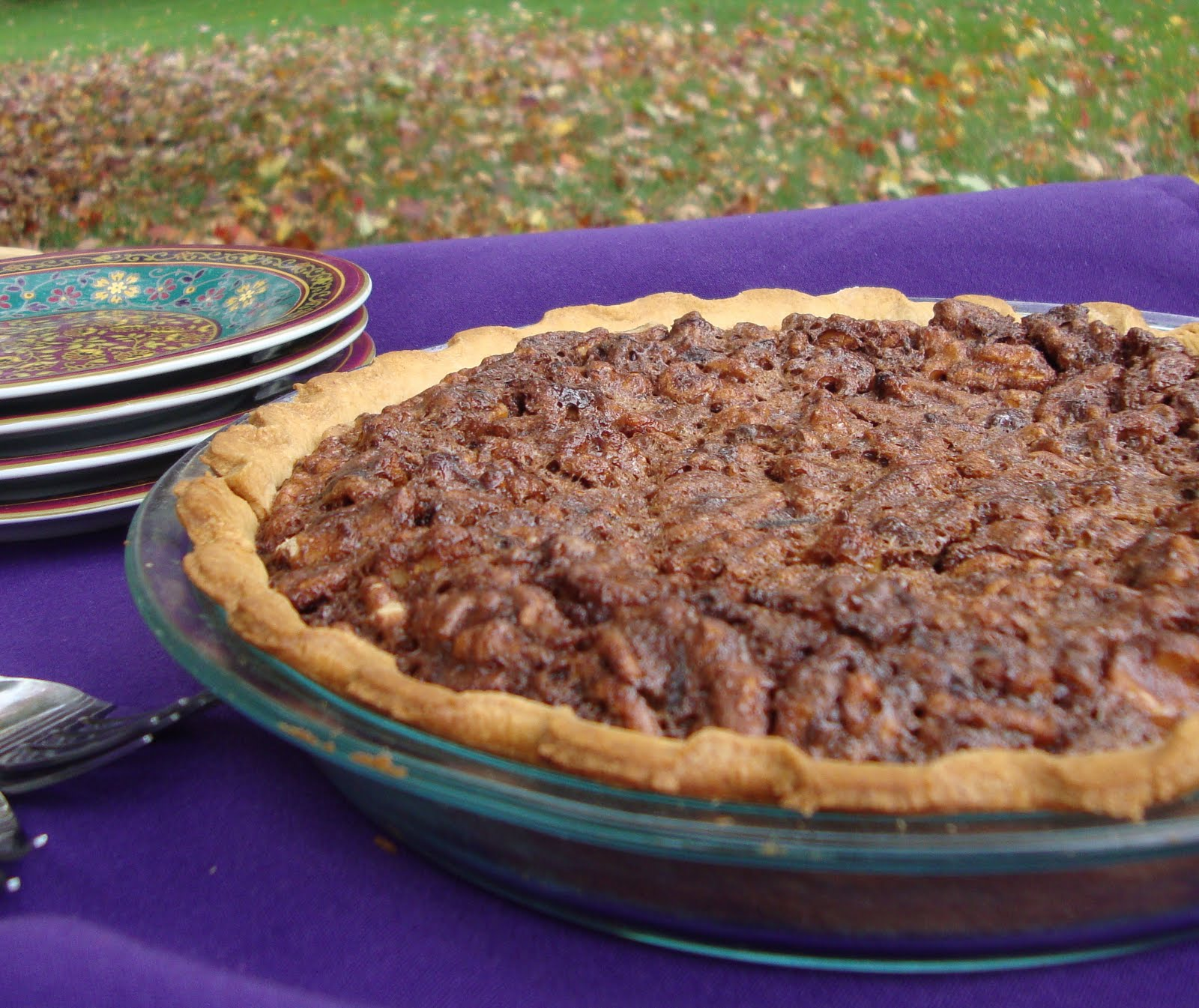 Food Floozie: Chocolate Pecan Pie and the Auction Winner's ...