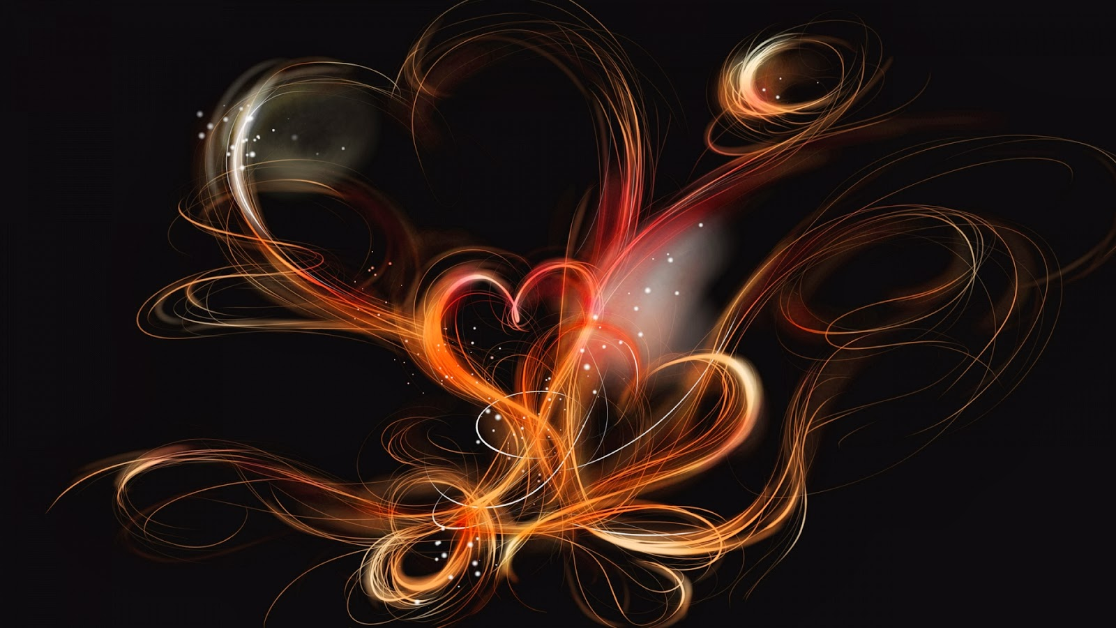 Abstract Heart Design   Full HD Desktop Wallpapers 1080p  Abstract