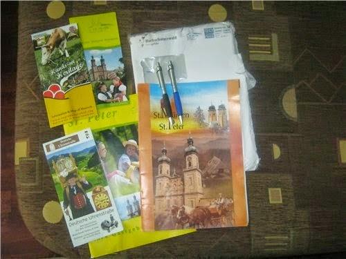 Échantillons gratuits des Stylos et des catalogues de Peter à recevoir chez vous