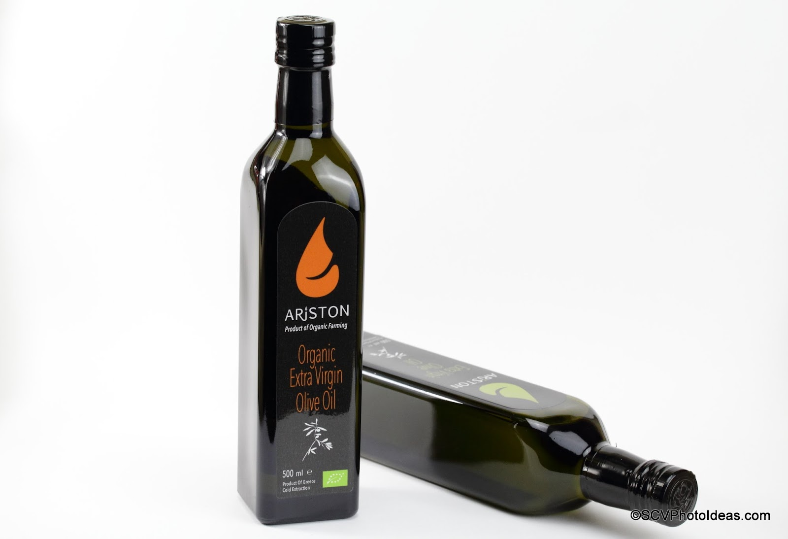 Ariston Organic Extra Virgin Olive Oil - Standing