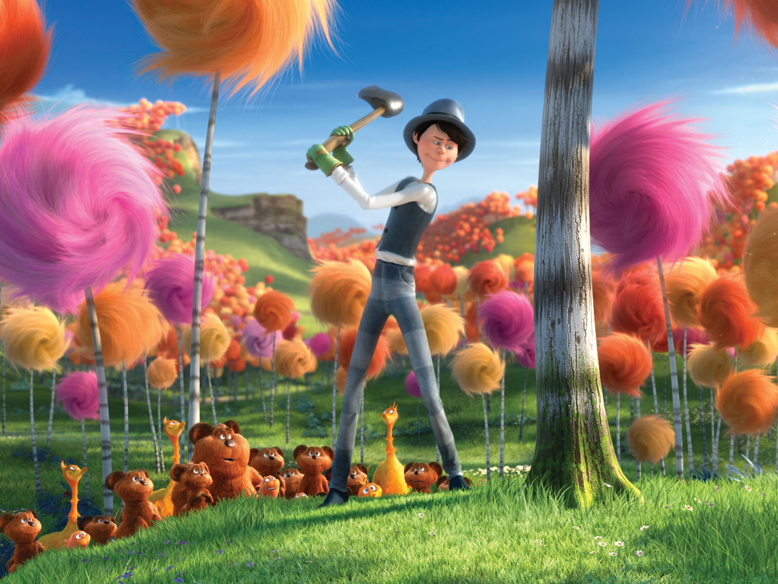 Being Hildaladida: Dr' Seuss The Lorax 2012