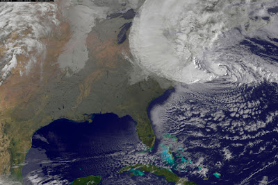 Hurricane Sandy affects major cities in the Northeast