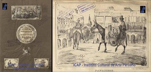 """Ignacio Merino y Francisco """"Pancho"""" Fierro. Obra de 1838-1839."""