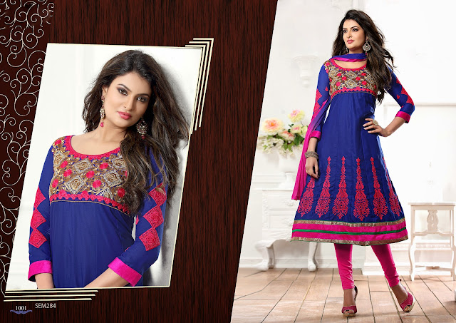 Sayali Bhagat Designer Embroidered Anarkali Suit