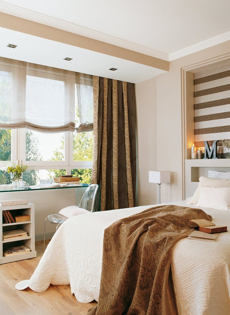 Casinha colorida dicas de decora o feminina e elegante - Pintura de dormitorios matrimoniales ...