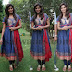 Sanchita Shetty Silk Anarkali Salwar