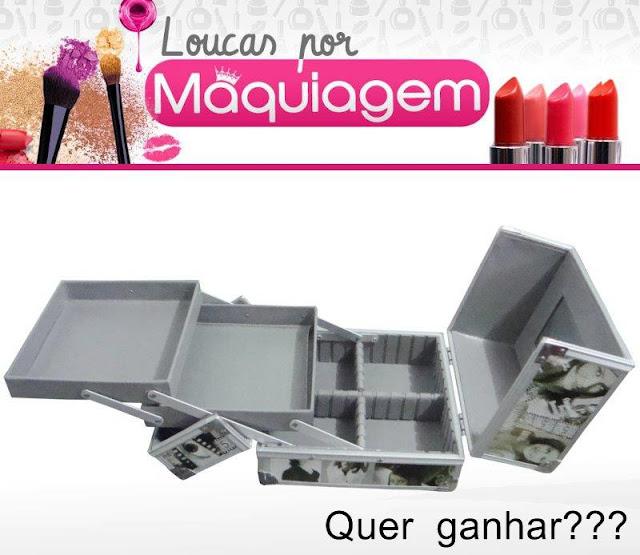 Sorteio maleta de maquiagem - Loucaspormakeup