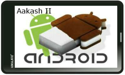 Aakash 2 gets New Specs Dual-core processor with Android 4.0