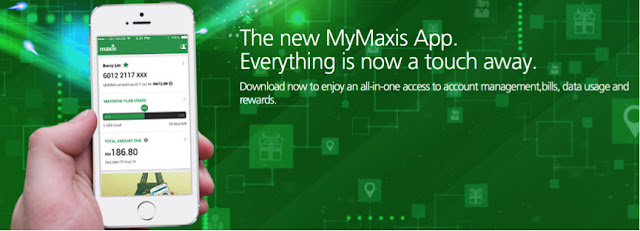 The new MyMaxis App