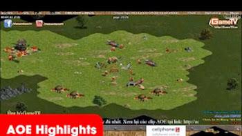 AOE Highlights, Chim Sẻ Đi Nắng, Gunny 2 shang giải quyết trận đấu chỉ với 11p trong game