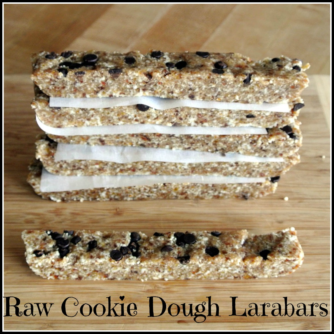 Mom, What's For Dinner?: Chocolate Chip Cookie Dough Larabars