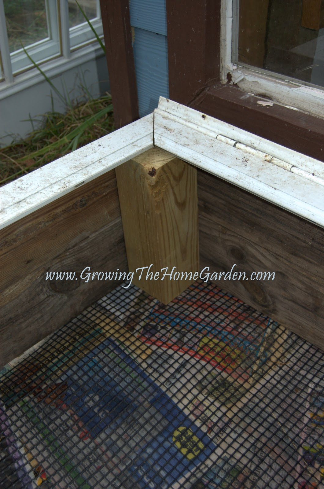 Reusing Materials for a Cold Frame - Growing The Home Garden