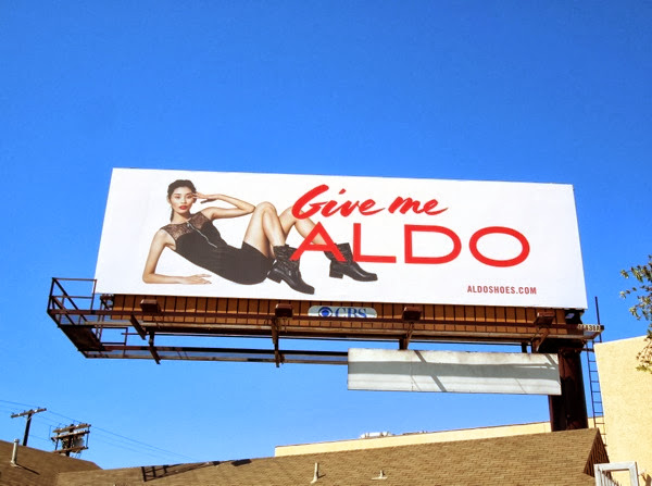 Give me Aldo Shoes FW13 billboard