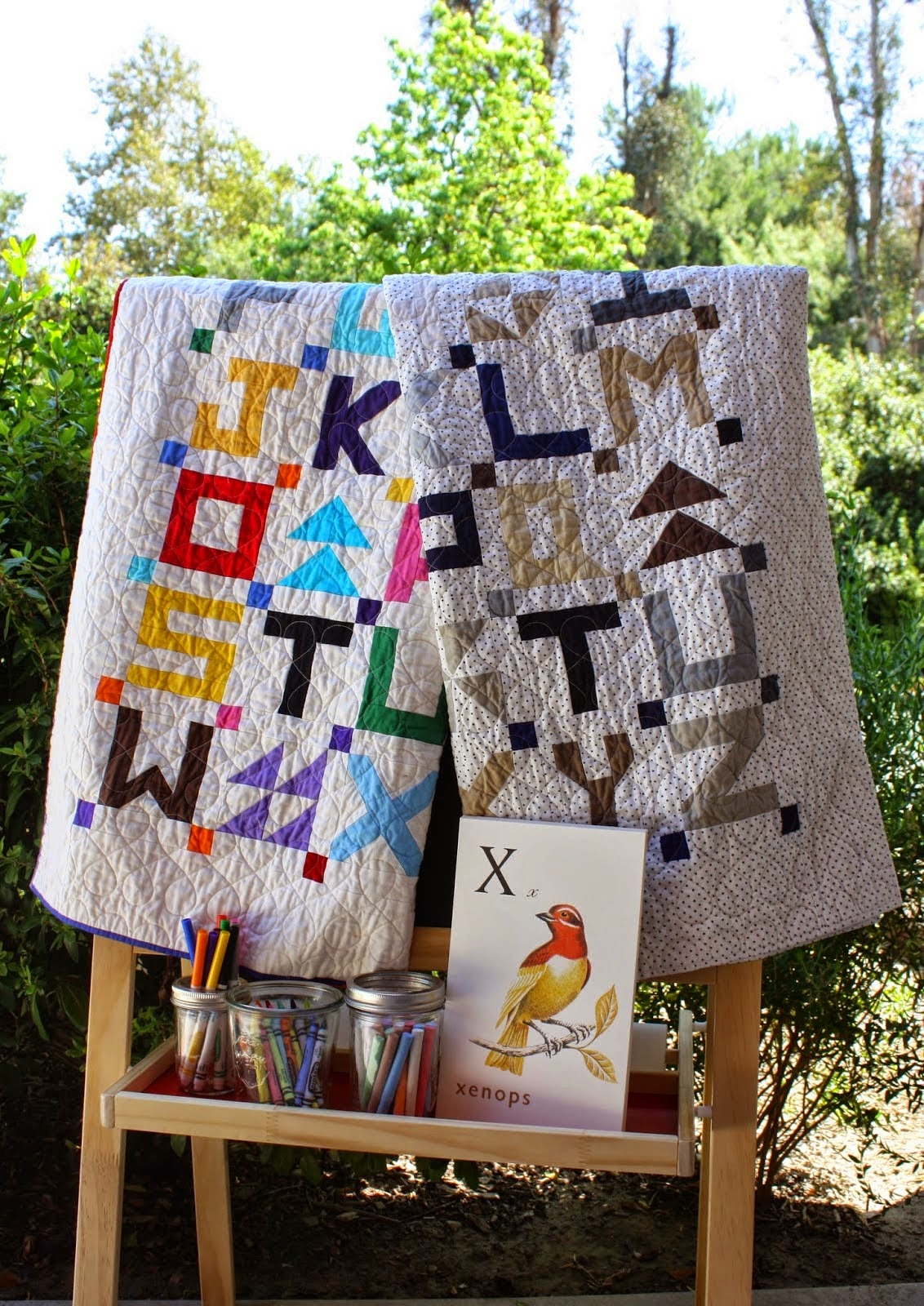 Little Letters by Temecula Quilt Company
