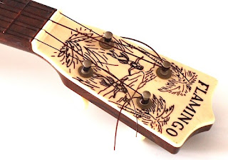 emenee flamingo ukulele