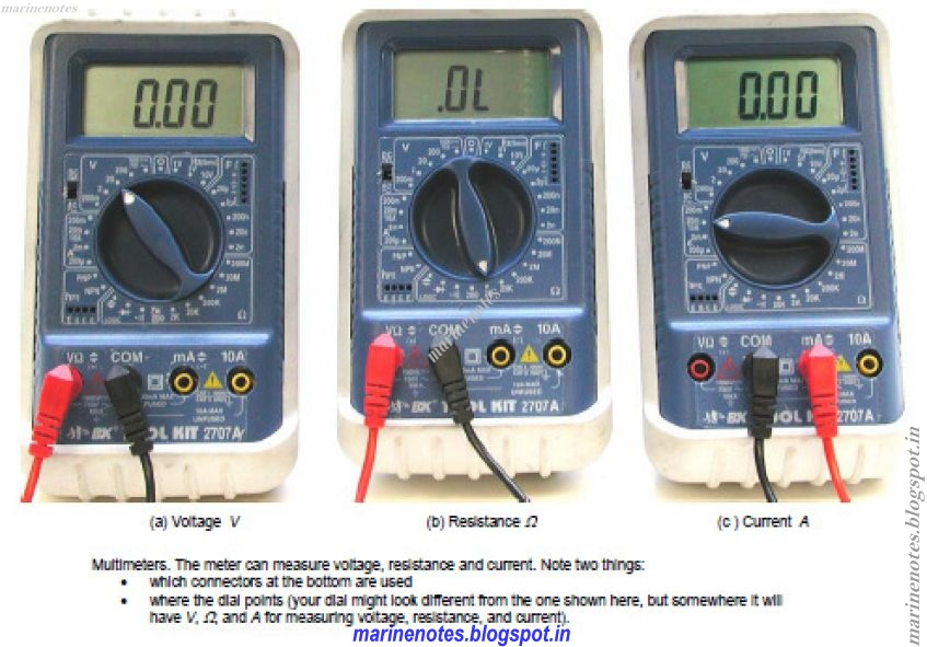 Digital Deflection Meter : Familiarization of digital multi meters and analog