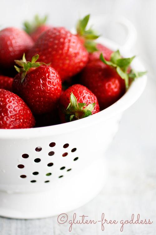 Gluten-free strawberry recipes!
