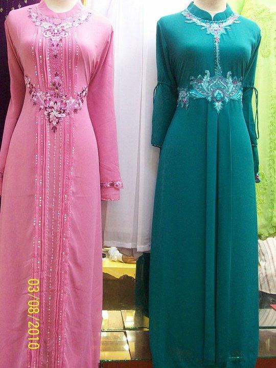 Dress of muslim bride