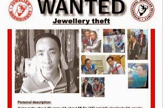 Waran Tangkap Dua Pencuri Barang Kemas