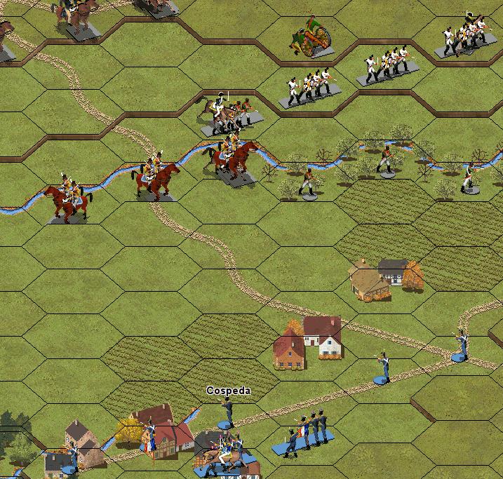 Битва при Йене 1806. Ситуация в 8:00