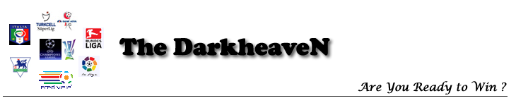 DarkHeaveN  | Türkiye'nin En Güncel , En Çok Bilgi İçeren ve En Çok Kazandıran Bahis Blogu