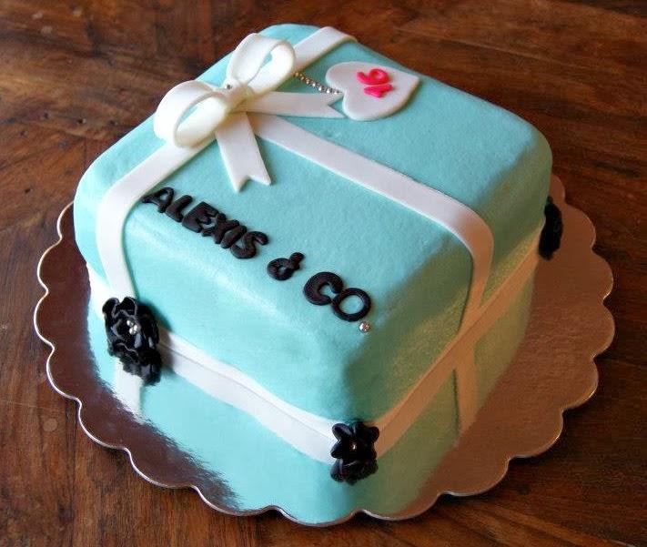 tiffany & co. birthday cake
