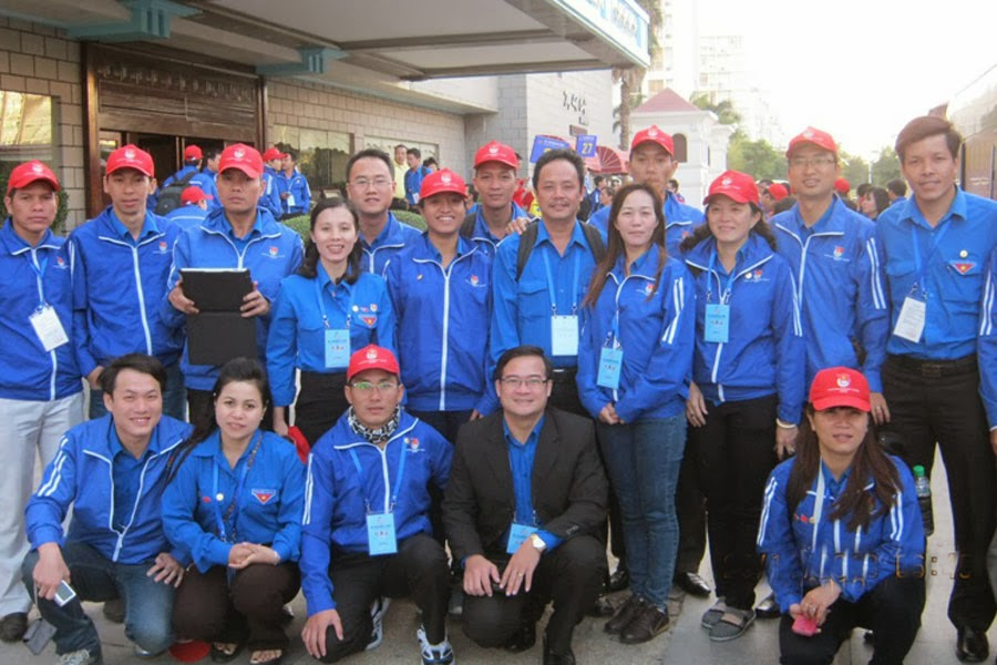 Đoàn đại biểu thanh niên tỉnh Gia Lai: Tham gia liên hoan thanh niên Việt - Trung lần thứ II-năm 2013