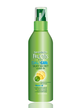 Garnier Fructis Silky Secret and Sleek and Shine Anti Frizz Serum ...