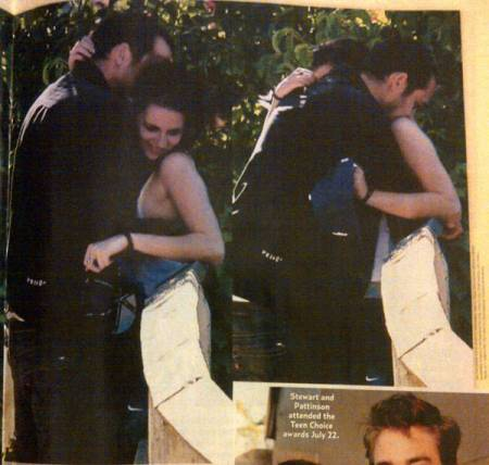 Kristen Stewart and Rupert Sanders Affair Pictures