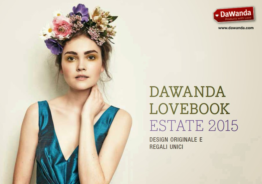 Cover of DaWanda Lovebook Estate 2015