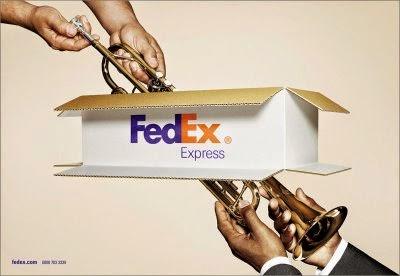 Campanha original da FedEx.