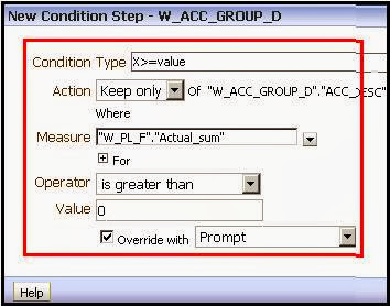 Selection Steps in OBIEE 11g