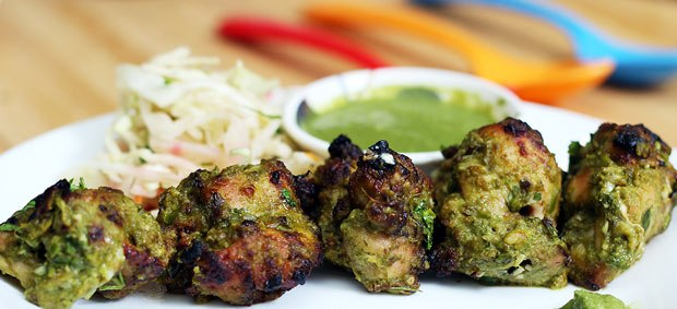 how to make indian style chicken kebabs