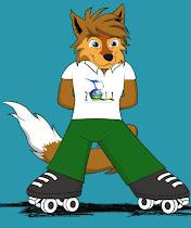 """""""CACAU"""" - Mascote do Mundial de Patinação Artística 2011 em Brasília/DF"""