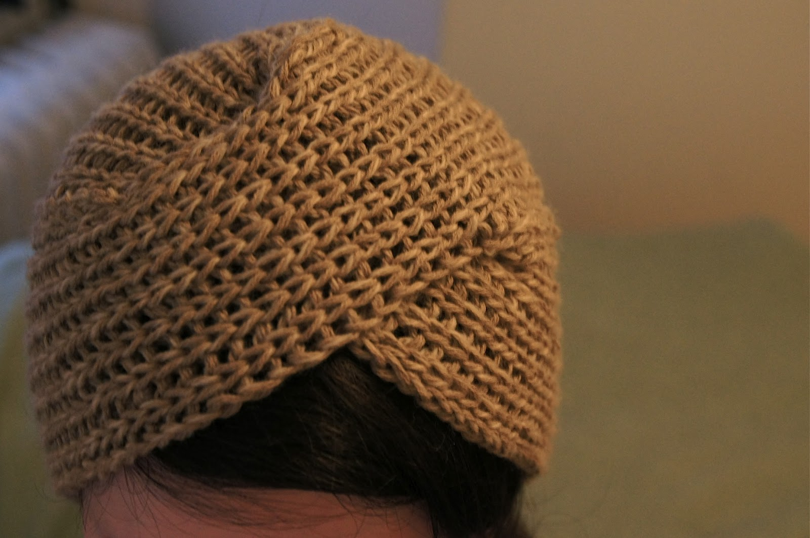 Wool Knitting Tutorial : Rerae knit turban tutorial