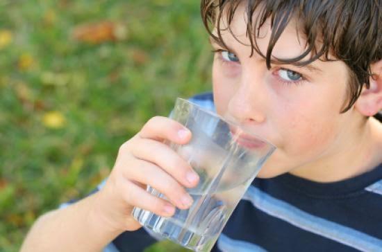 Agua en la niñez