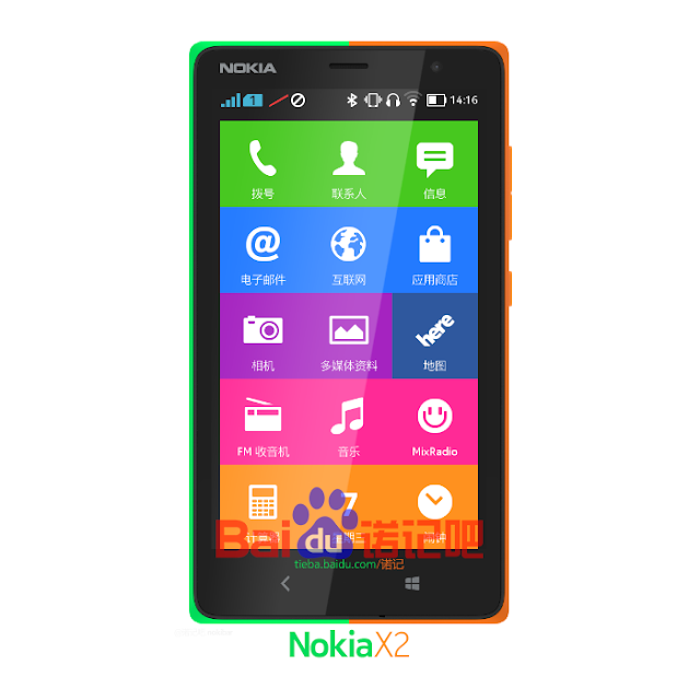 Alleged Nokia X2