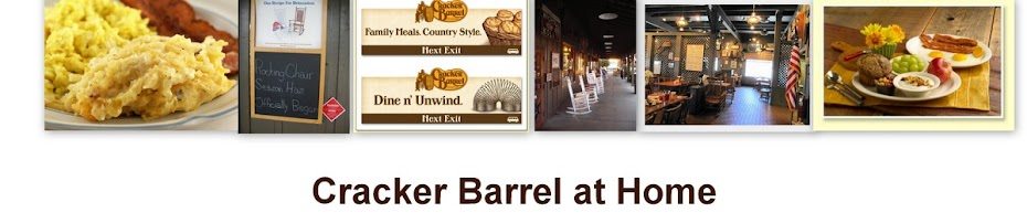 Cracker Barrel Copycat Recipes