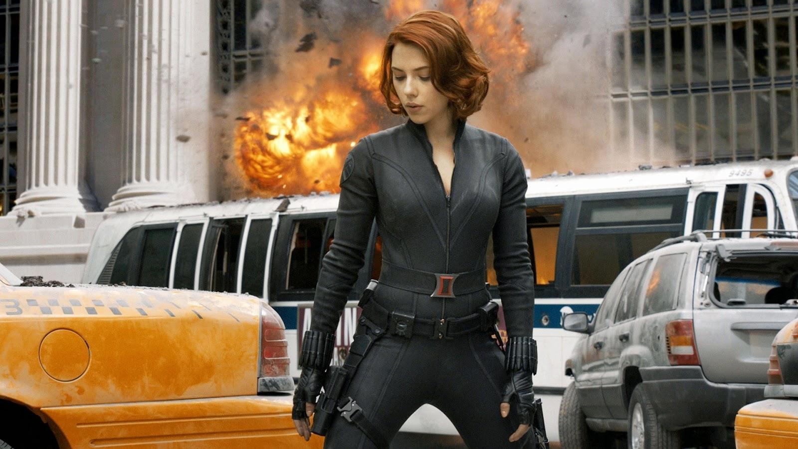 Scarlett Johansson in Avengers Movie 1080p