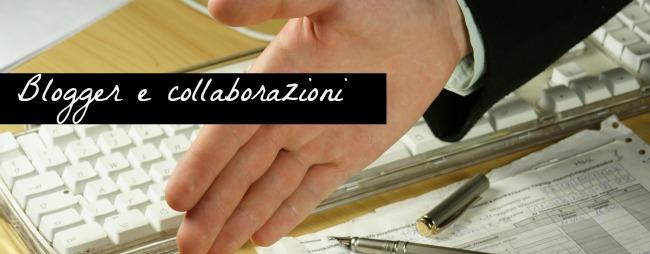 blogger e collaborazioni