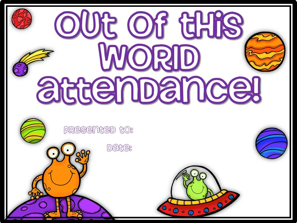 Little texans homework and attendance awards for students freebie