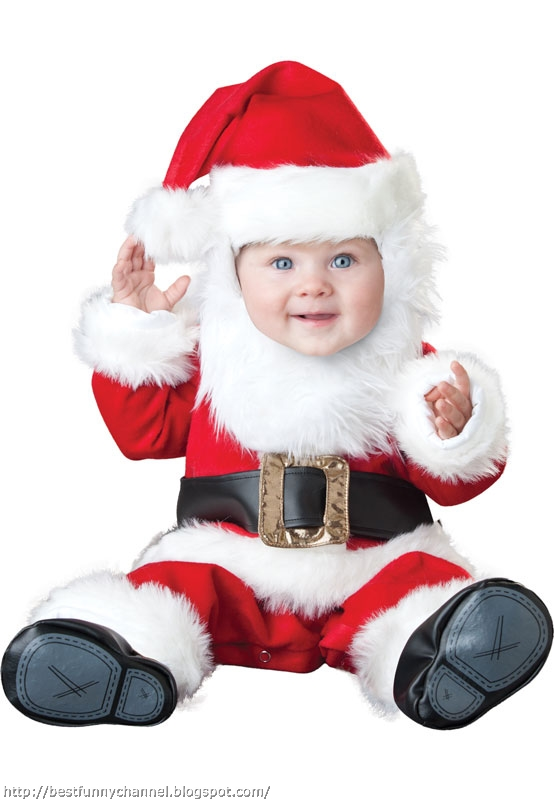 Funny baby pictures christmas