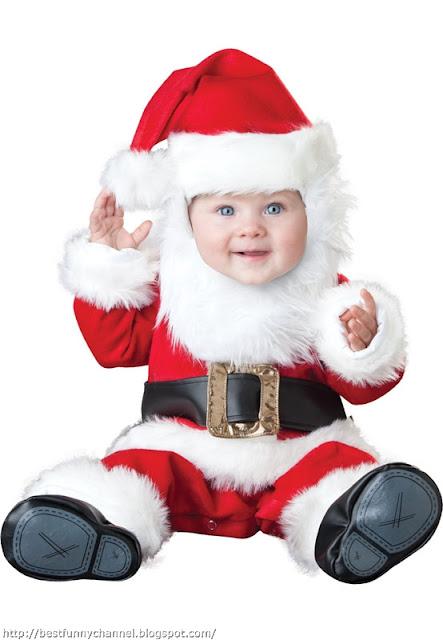 Baby Santa Claus.