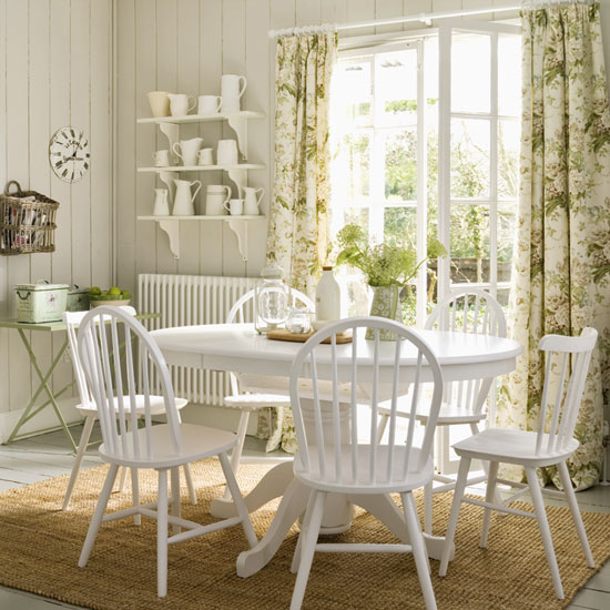 Vintage Style Dining Room