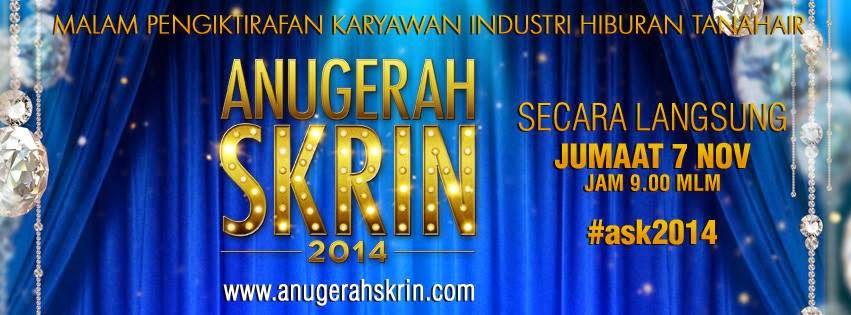 keputusan anugerah skrin 2014 ASK2014